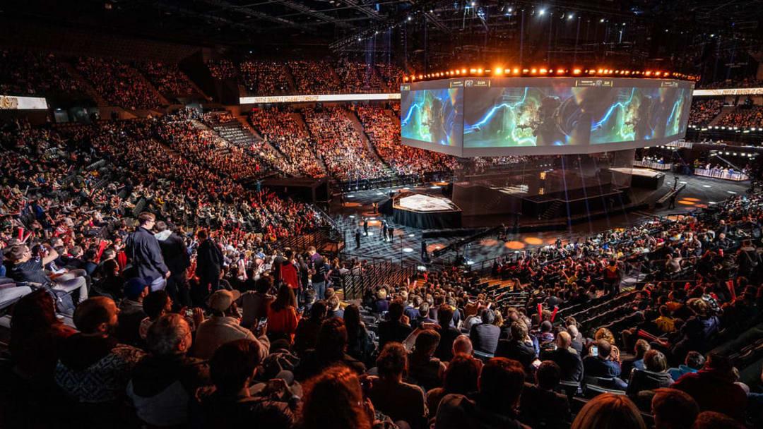 League of Legends World Championships 2019 in Paris, France