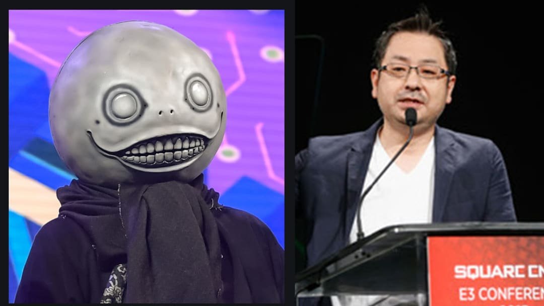 Nier series creator Yoko Taro (left) and Square Enix producer Yosuke Saito (right) are working on two new games together.