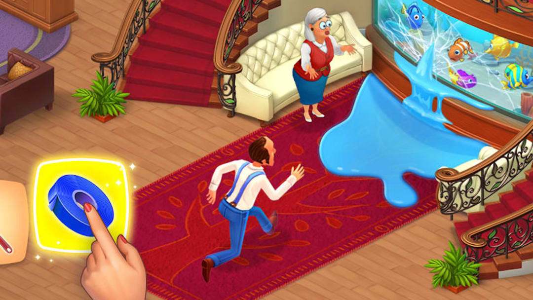 Homescapes was one of the top-performing mobile games of the year.