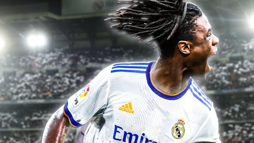 Eduardo Camavinga, nouveau joueur du Real Madrid.