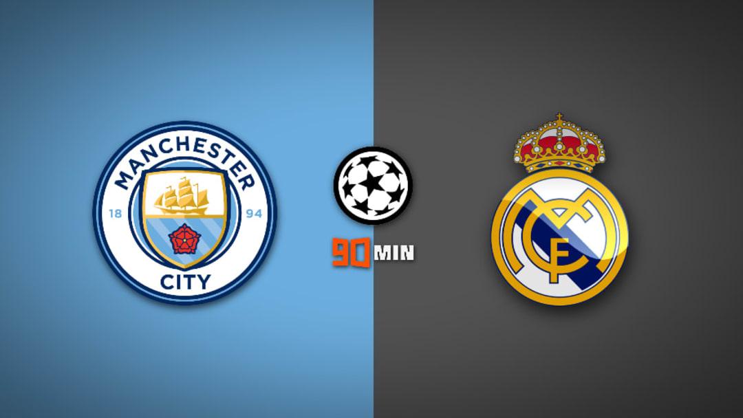Manchester City vs Real Madrid : UEFA Champion League 2019/20
