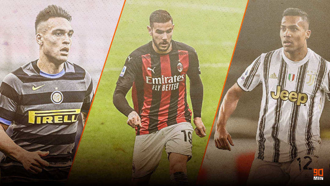 Nazionali più rappresentate in Serie A
