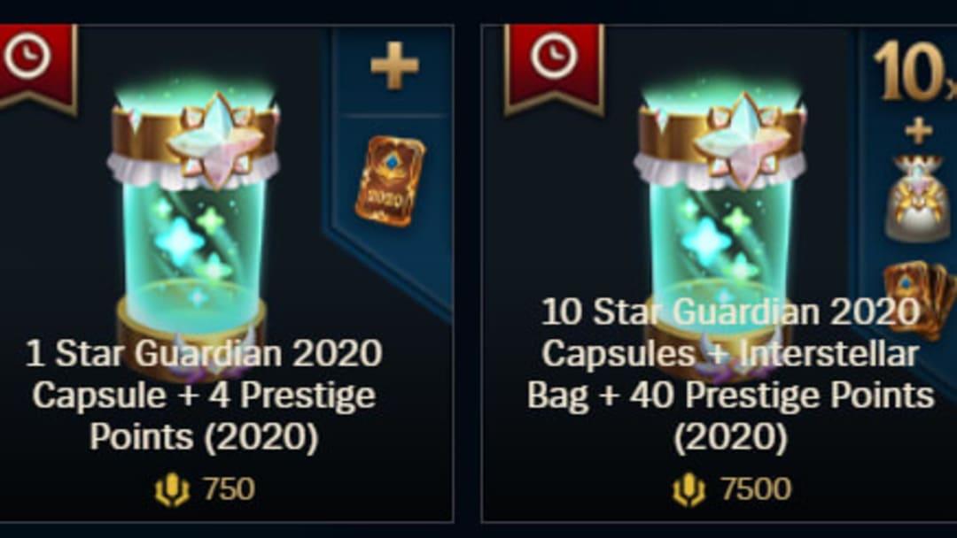 Star Guardian Capsules