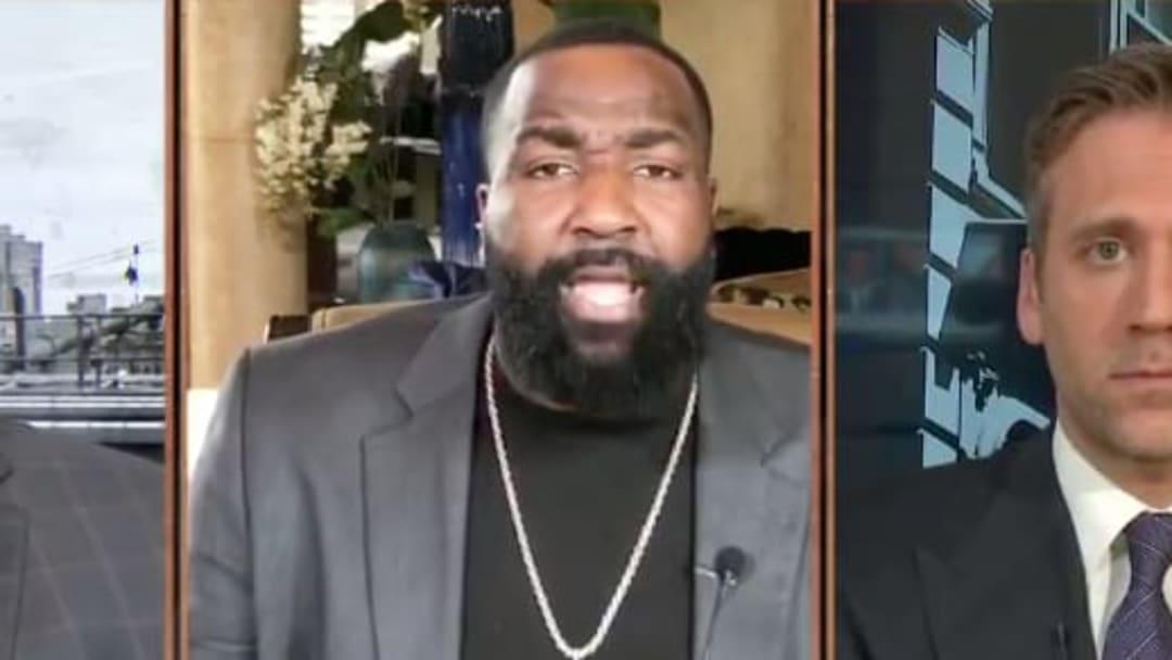 Former NBA center Kendrick Perkins