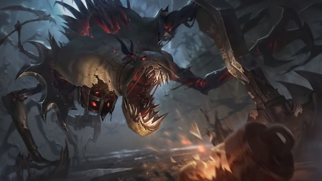 With the League of Legends Fiddlesticks rework hitting live servers today's here's every new skin's splash art.