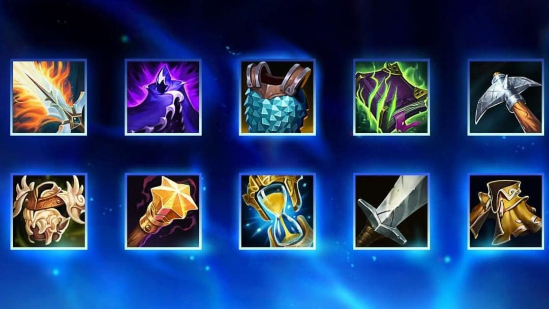 Mythic and Legendary items were recently revealed via the League of Legends official twitter account.