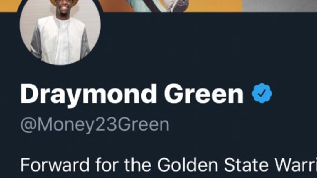 Golden State Warriors star Draymond Green on Twitter