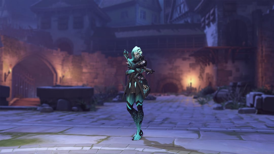 Overwatch Halloween Terror Week 1 Challenges reward players with Fantasma Sombra cosmetics for winning games across all modes.