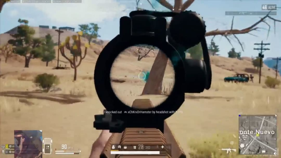 PUBG Player kills two teams in duos in quick succession.