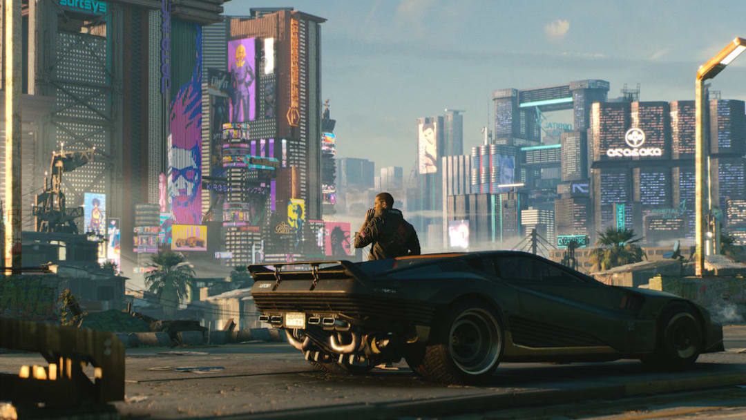 How big is the map size in Cyberpunk 2077?