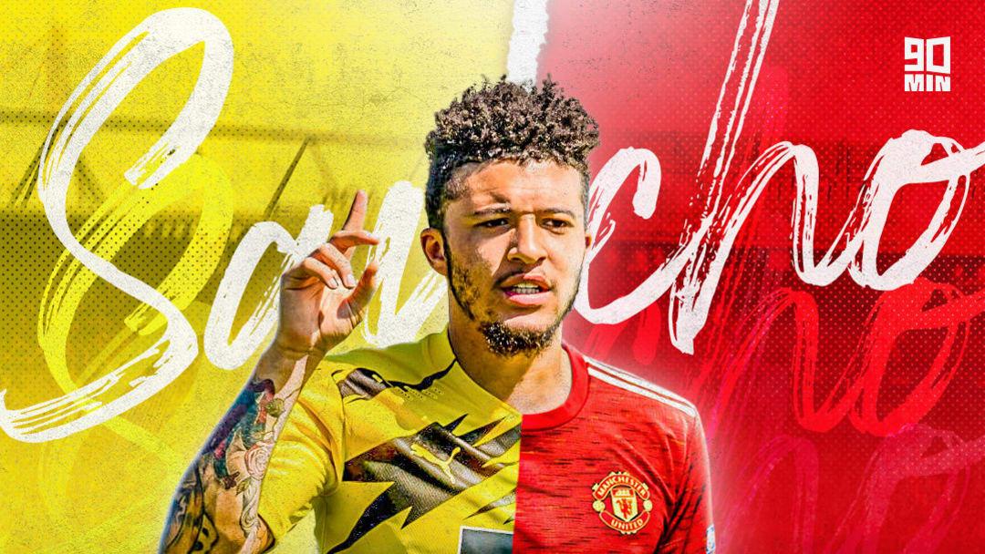Jadon Sancho rejoint Manchester United