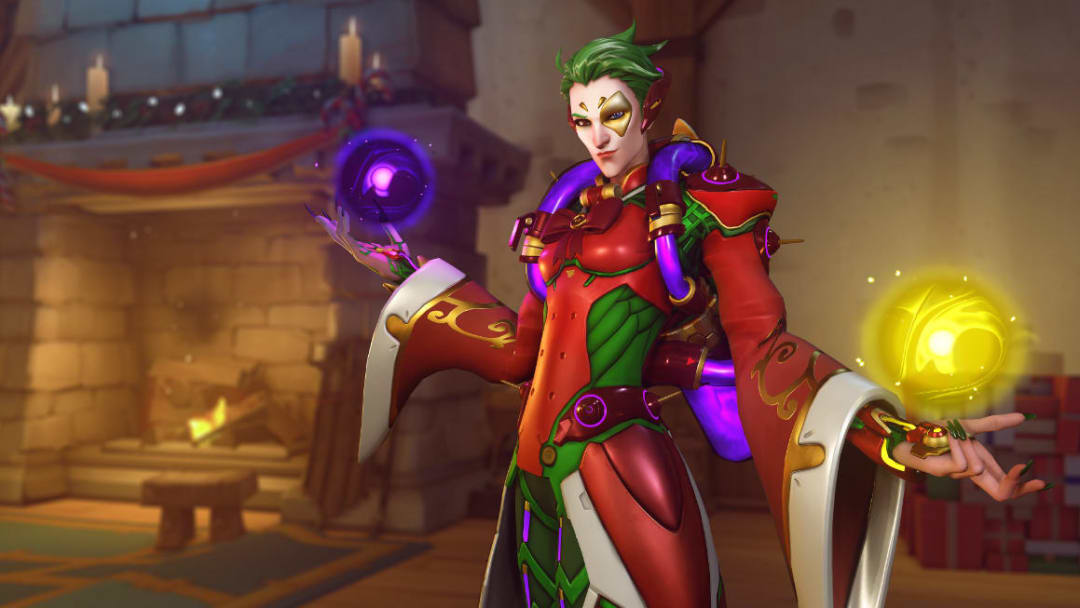 A fan created a new passive ability to allows Moira to heal more than before.