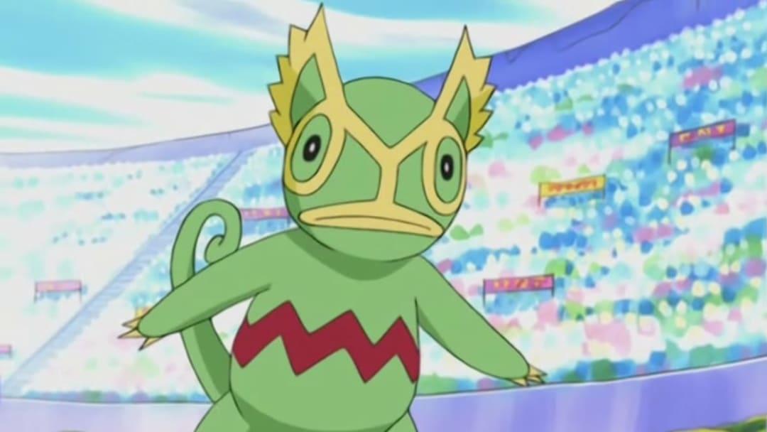 Harrison's Kecleon from the popular Pokémon TV Series