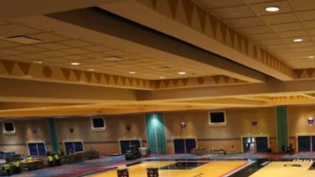 The NBA revealed their practice courts at Walt Disney World.