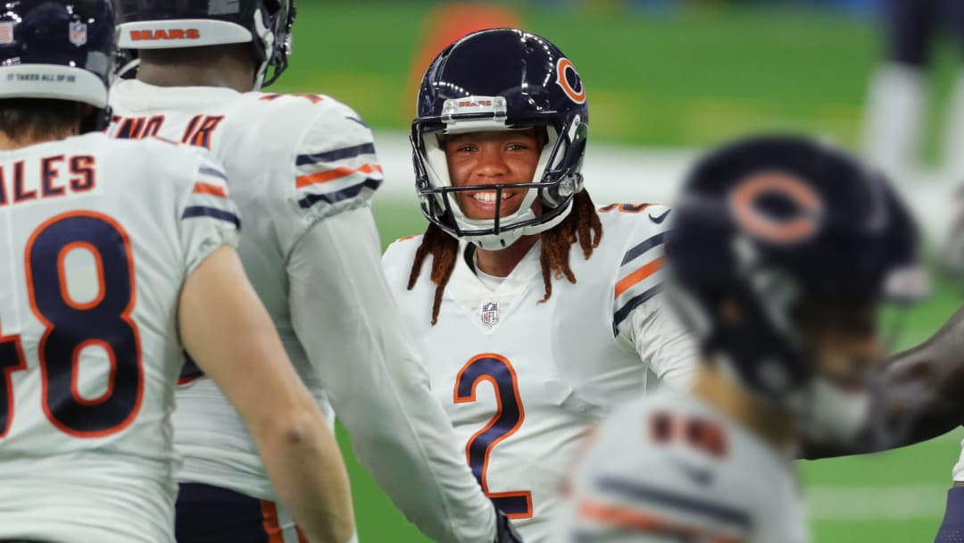 Mia Fishel nailed three field goals, including one inside two minutes to give Chicago the lead and the Bears beat the Packers 23-21 Sunday.