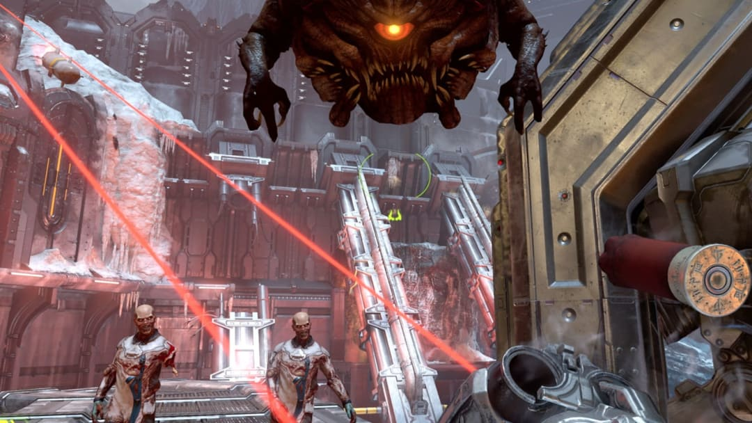 Doom Eternal Completionist bug has appeared for those trying to complete the Gunpletionist trophy on the PlayStation 4.