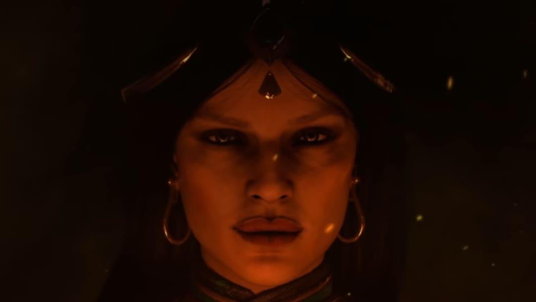 The Sorceress in Diablo II: Resurrected