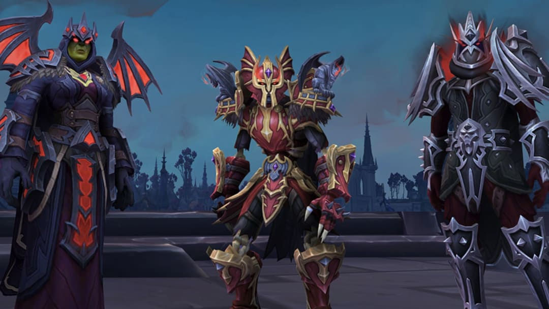 WoW Shadowlands Covenant armor was revealed during BlizzCon 2019, showing players the next set of armor to earn.