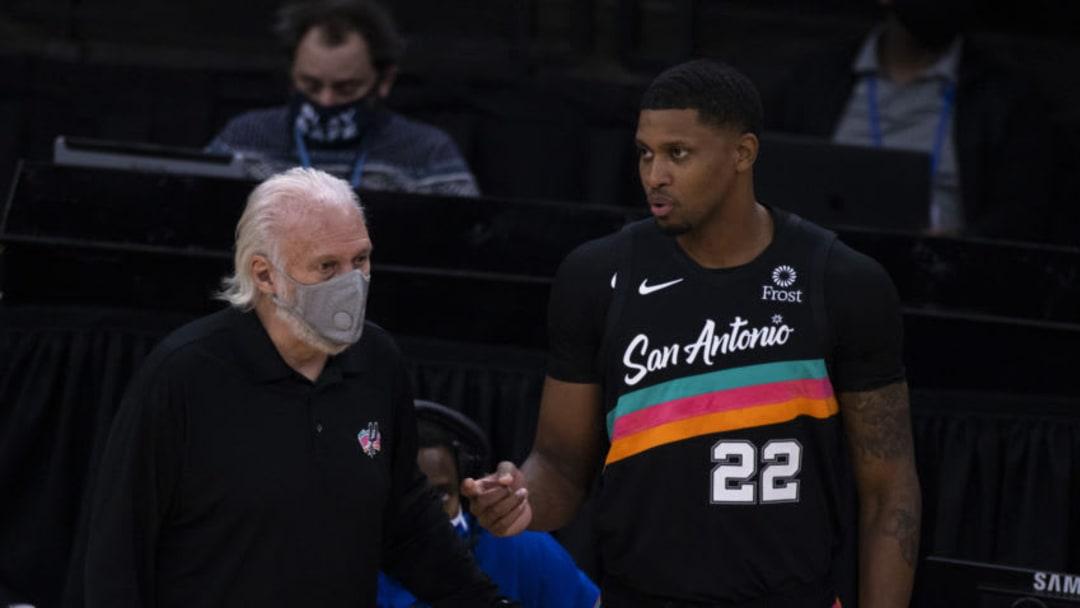 San Antonio Spurs Rudy Gay (Photo by Brett Carlsen/Getty Images)