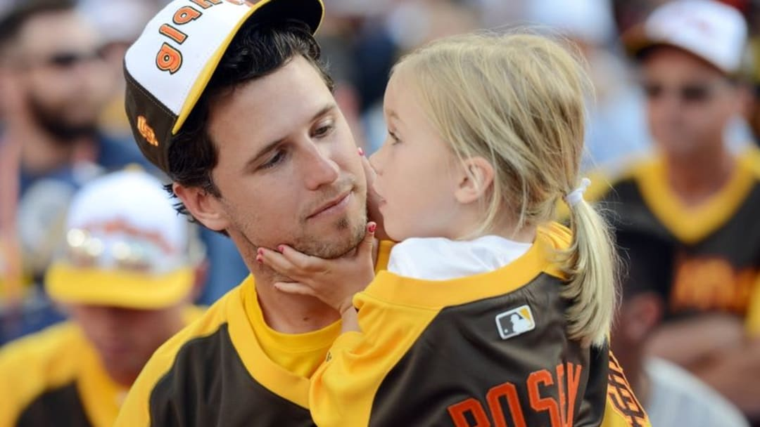 Could you imagine if Buster Posey proclaimed he prefered eating Mexican food in his native Georgia than in California? Jake Roth-USA TODAY Sports
