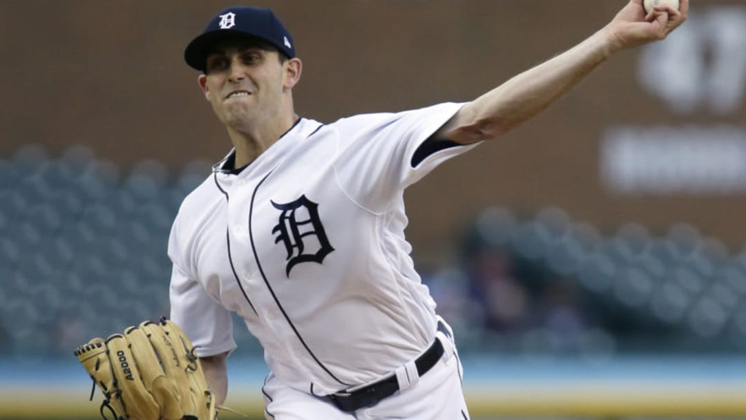 DETROIT, MI - MAY 3: Matthew Boyd #48 of the Detroit Tigers pitches against the Kansas City Royals during the second inning at Comerica Park on May 3, 2019 in Detroit, Michigan. (Photo by Duane Burleson/Getty Images)