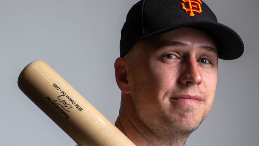 San Francisco Giants catcher Buster Posey. (Photo by Rob Tringali/Getty Images)