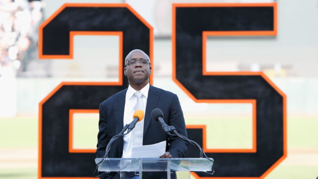 Former SF Giants player Barry Bonds - (Photo by Lachlan Cunningham/Pool via Getty Images)
