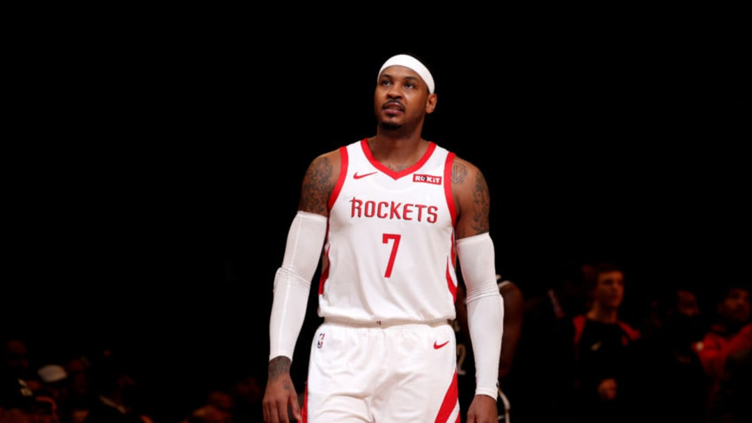 Carmelo Anthony #7 of the Houston Rockets (Photo by Nathaniel S. Butler/NBAE via Getty Images)