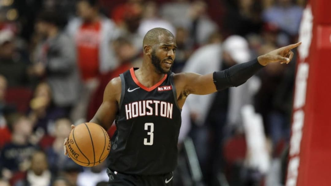 Chris Paul #3 of the Houston Rockets (Photo by Tim Warner/Getty Images)