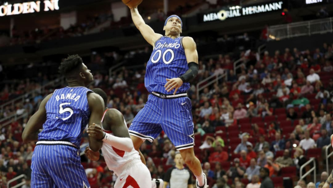 Aaron Gordon #00 of the Orlando Magic (Photo by Tim Warner/Getty Images)