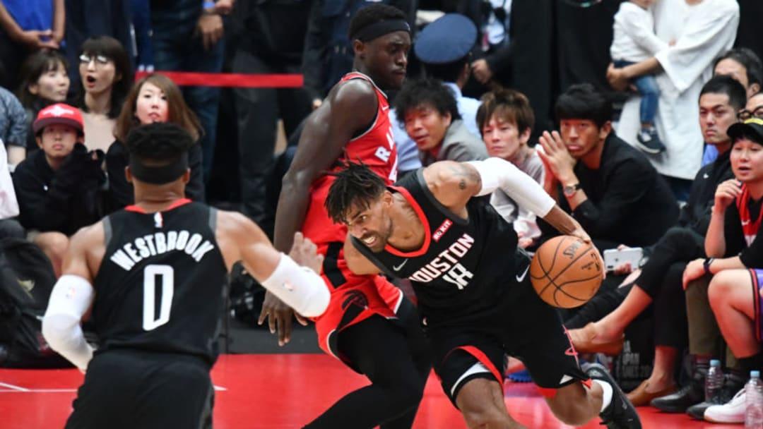 Houston Rockets Thabo Sefolosha (Photo by KAZUHIRO NOGI/AFP via Getty Images)