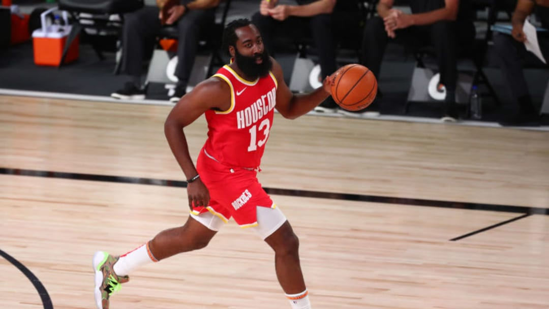 Houston Rockets James Harden (Photo by Kim Klement-Pool/Getty Images)