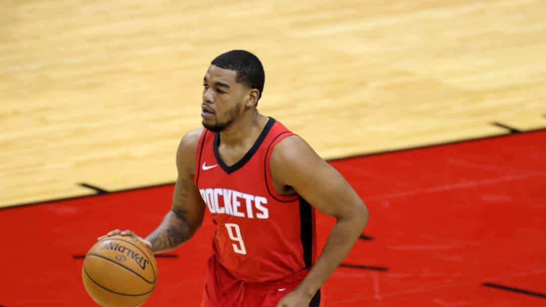 Mason Jones #9 of the Houston Rockets (Photo by Carmen Mandato/Getty Images)