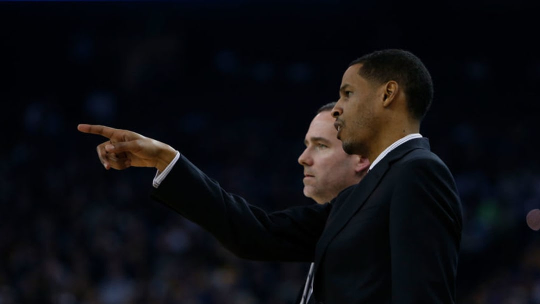 Charlotte Hornets acting head coach Stephen Silas (Photo by Lachlan Cunningham/Getty Images)