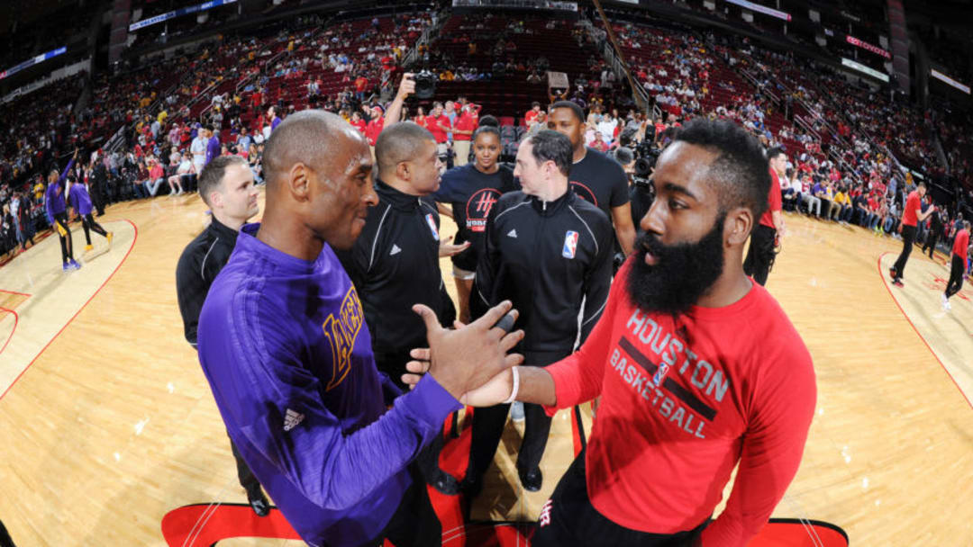 Houston Rockets James Harden (Photo by Andrew D. Bernstein/NBAE via Getty Images)