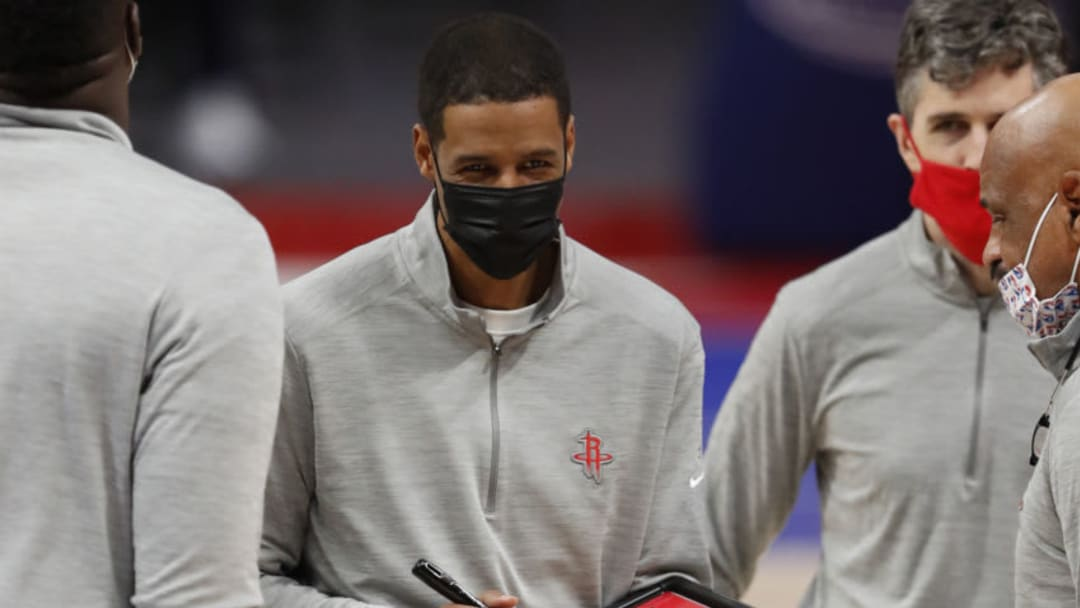 Houston Rockets head coach Stephen Silas Mandatory Credit: Raj Mehta-USA TODAY Sports