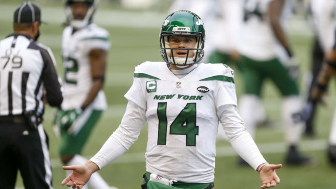 NY Jets, Sam Darnold Mandatory Credit: Joe Nicholson-USA TODAY Sports