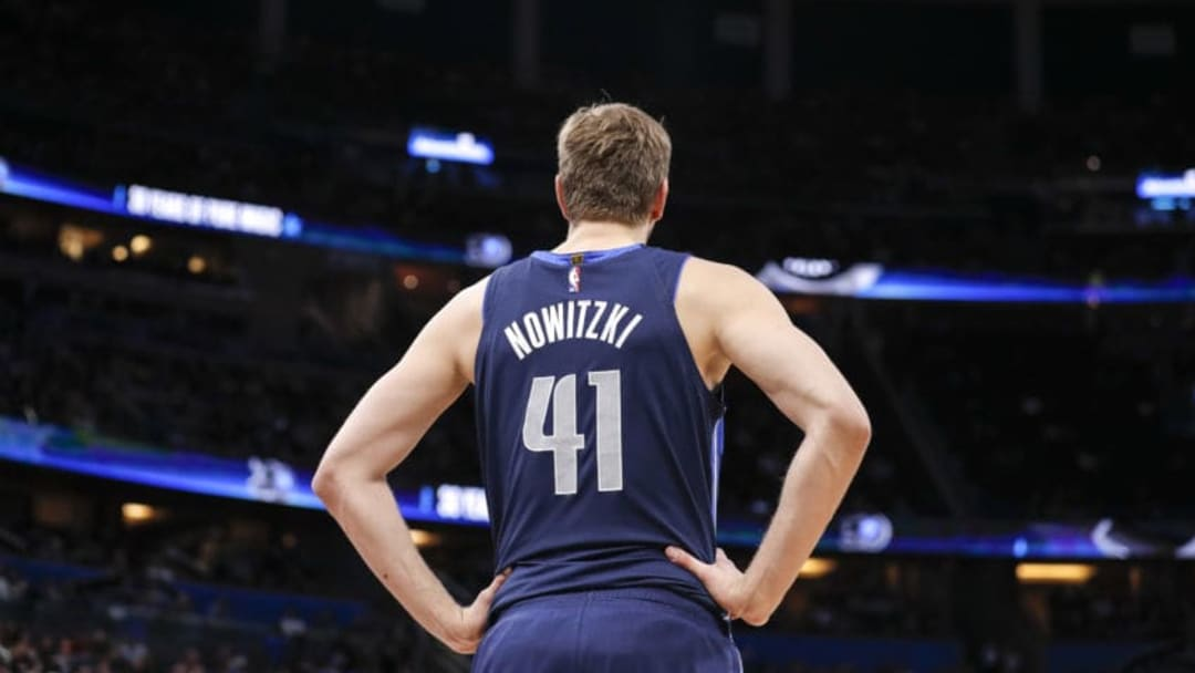 Dallas Mavericks Dirk Nowitzki (Photo by Don Juan Moore/Getty Images)
