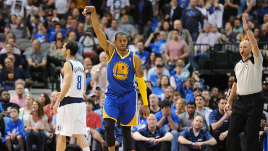 Dallas Mavericks Andre Iguodala (Photo by Albert Pena/Icon SMI/Corbis/Icon Sportswire via Getty Images)