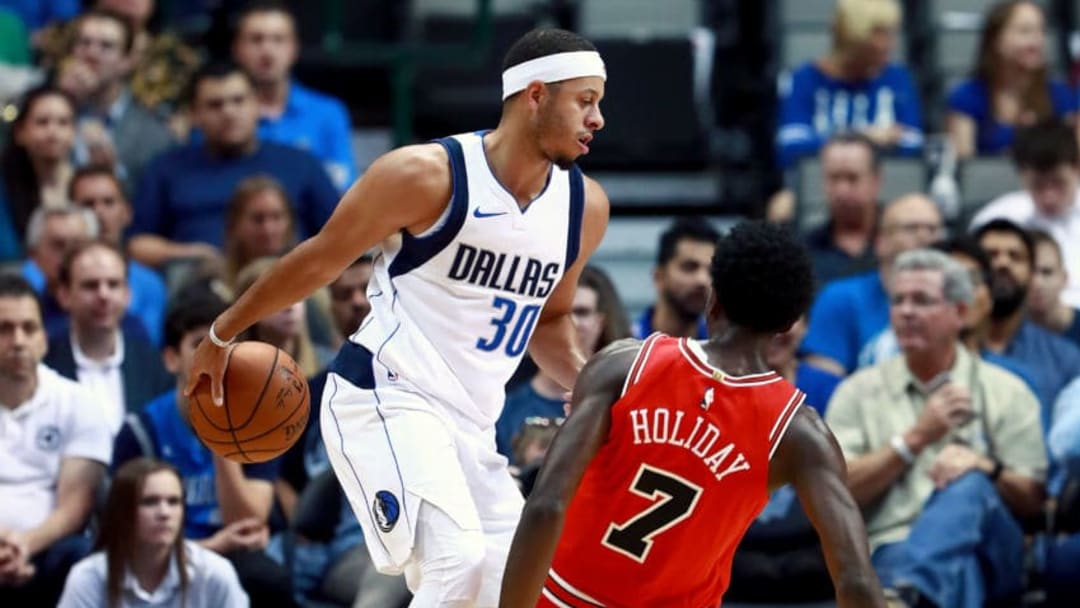 Dallas Mavericks Seth Curry (Photo by Tom Pennington/Getty Images)