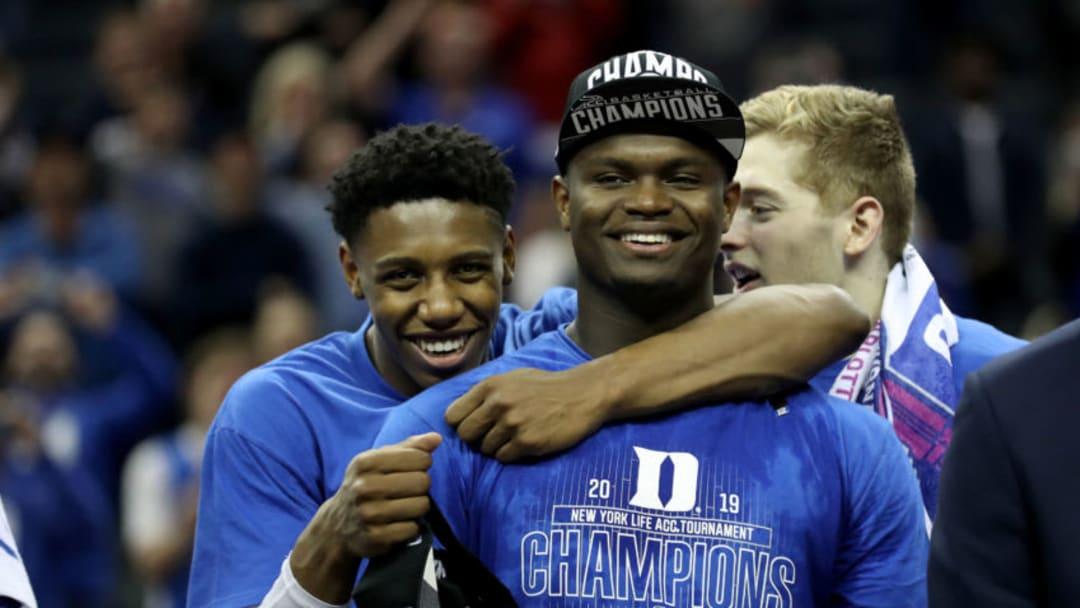 NBA Draft RJ Barrett Zion Williamson (Photo by Streeter Lecka/Getty Images)