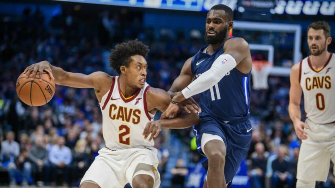 Dallas Mavericks Collin Sexton Tim Hardaway Jr. Mandatory Credit: Jerome Miron-USA TODAY Sports