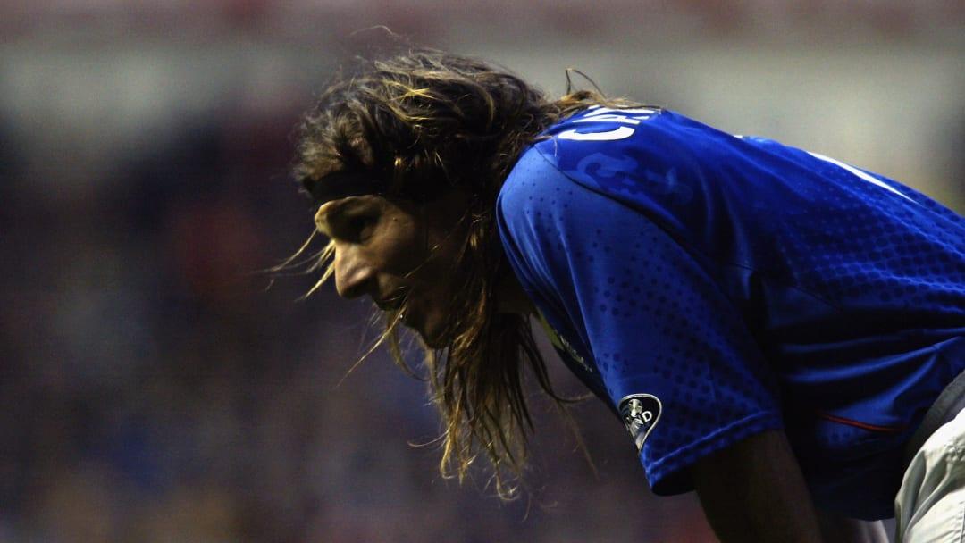 Claudio Caniggia of Glasgow Rangers
