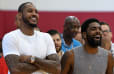 Carmelo Anthony's Explanation for Choosing No. 00 Proves He's Been Hanging Out With Kyrie Too Much