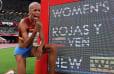 Venezolana Yulimar Rojas gana la medalla de oro en los Juegos Olímpicos con récord mundial en triple salto