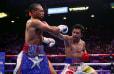 ÚLTIMA HORA: Manny Pacquiao vence a Keith Thurman y gana el título del peso welter de la AMB