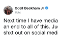 Odell Beckham Wrecks Colin Cowherd on Twitter Over On-Air Criticism and Reveals Private Texts