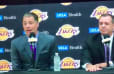 VIDEO: Rob Pelinka Responds to Magic Johnson's Criticism in Lakers Press Conference