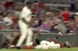 VIDEO: Braves' Ronald Acuña Face-Planted Rounding Third and Still Managed to Score on Close Play