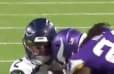 VIDEO: Seahawks QB Paxton Lynch Takes Vicious Helmet-to-Helmet Hit From Vikings CB Holton Hill